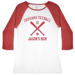 Teeball Sports Mom Pride
