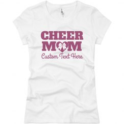 Custom Cheer Mom Shirt