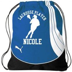 Nicole. Lacrosse player