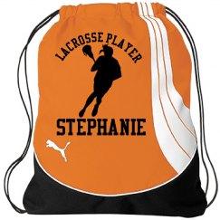 Stephanie. Lacrosse player