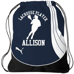 Allison. Lacrosse player