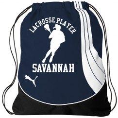 Savannah. Lacrosse player