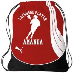 Amanda. Lacrosse player
