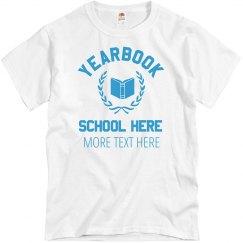 Yearbook Team Tee