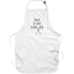 Hair is My Canvas salon apron