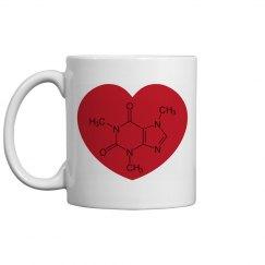 Love Caffeine Coffee mug