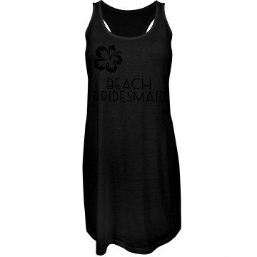Beach Bridesmaid Dress/Flower