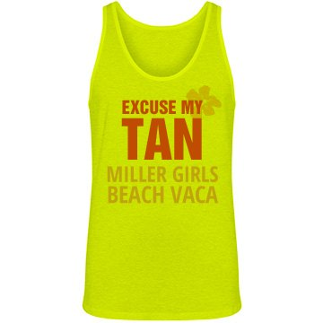 Beach Vacation Tank