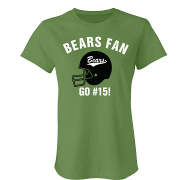 Bears Fan Football Tee