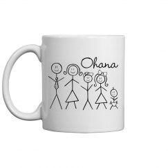 Ohana Family Coffee Mug