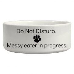 Do Not Disturb Food Bowl