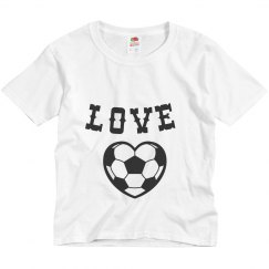 Love Footbal Tee