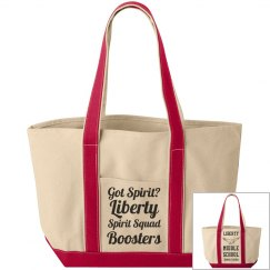 Got Spirit? Liberty Spirit Squad Boosters / LMS Eagle