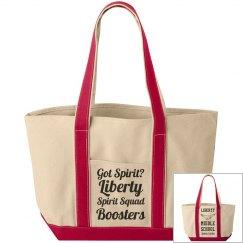 Got Spirit? Liberty Spirit Squad Boosters / LMS Eagle