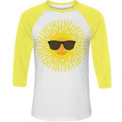 Sunshine Face with Sunglasses