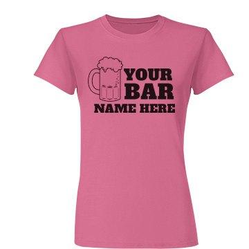 Beer Mug Bar Name