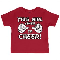 This Girl Loves Cheering