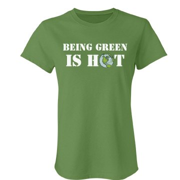 Being Green Is Hot