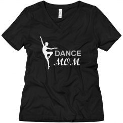 Rhinestone Dance Mom's Tee
