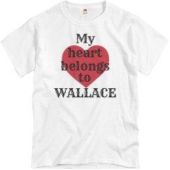 Heart belongs to wallace