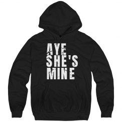 Aye She's Mine Distressed