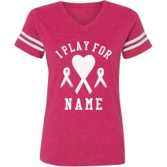 Breast Cancer Soccer Tee