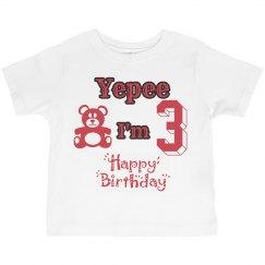 Youth Birthday Tee