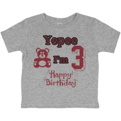 Youth Birthday Tee