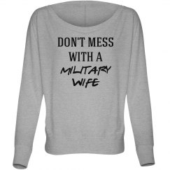 Don't mess with military wife