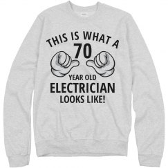 70 year old electrician