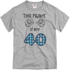 This prince is now 40