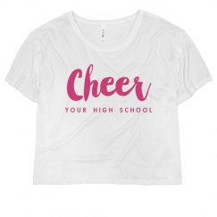 Custom Cheer Flowy Top