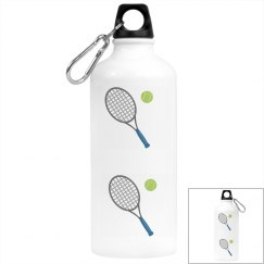 Ball And Racket Water Bottle