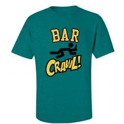 Bar Crawl! Drinking Humor T-Shirt