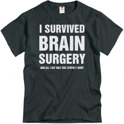 I survived Brain surgery