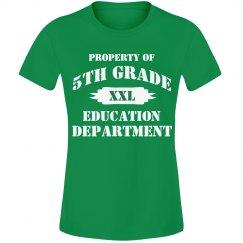 5Th Grade Dept.
