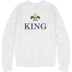 Matching Queen King Mardi Gras 2