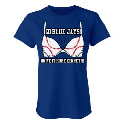 Blue Jays Baseball GF Bra