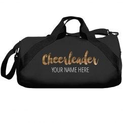 Custom Metallic Cheer Bag