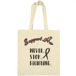 Support Her Breast Cancer Tote
