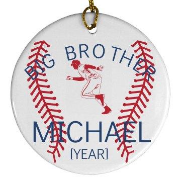 Big Brother Baseball Fan