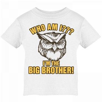 Big Brother Owl Tee