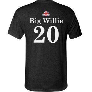 Big Willie UK Couple Tee