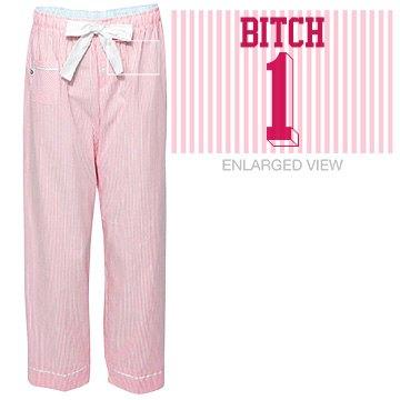 Bitch One Best Friends Pajamas