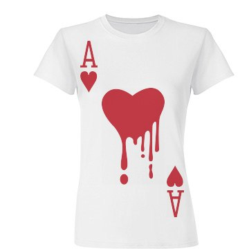 Bloody Ace Of Hearts