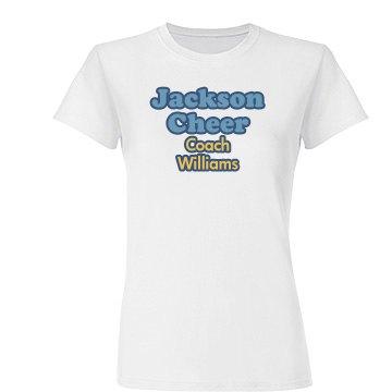 Blue Ribbon Cheer Coach