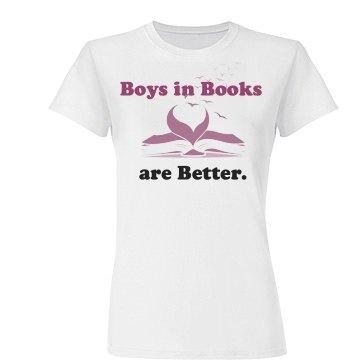 Boys in Books Junior Fit