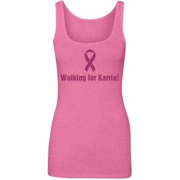 Breast Cancer Walk Tank