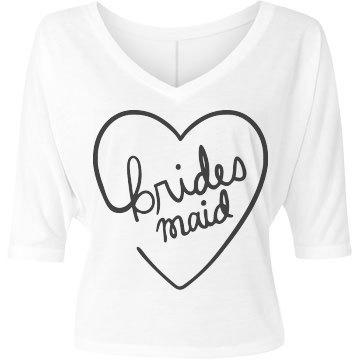 Bridesmaid Heart Script