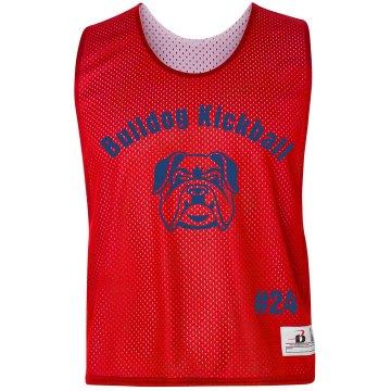 Bulldog Kickball Pinnie